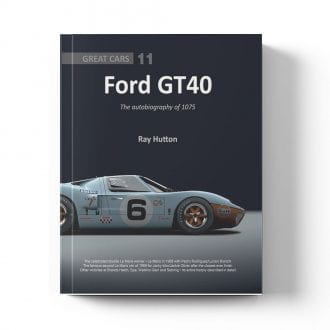 Product image for GT40 - The Autobiography of 1075 by Ray Hutton