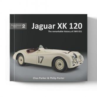 Product image for Jaguar XK 120 by Chris Parker & Philip Porter