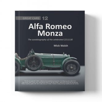 Product image for Alfa Romeo Monza by Mick Walsh
