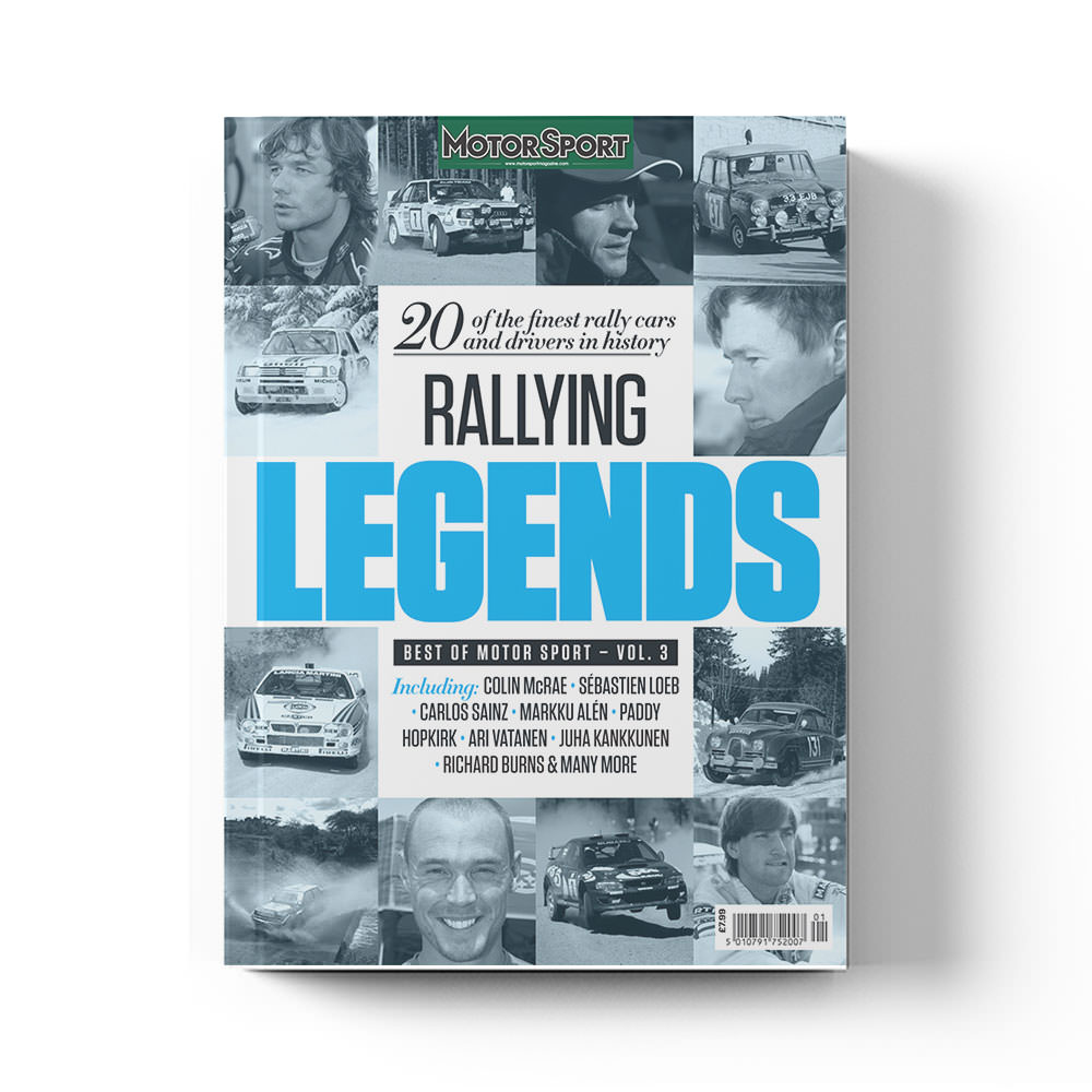 Product image for Rallying Legends by Motor Sport Magazine