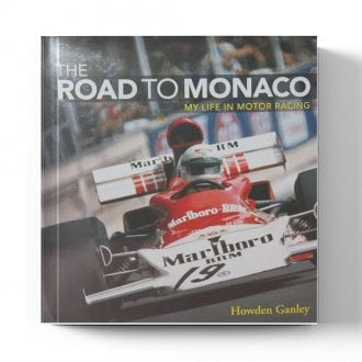 Product image for The Road to Monaco by Howden Ganley (SIGNED)
