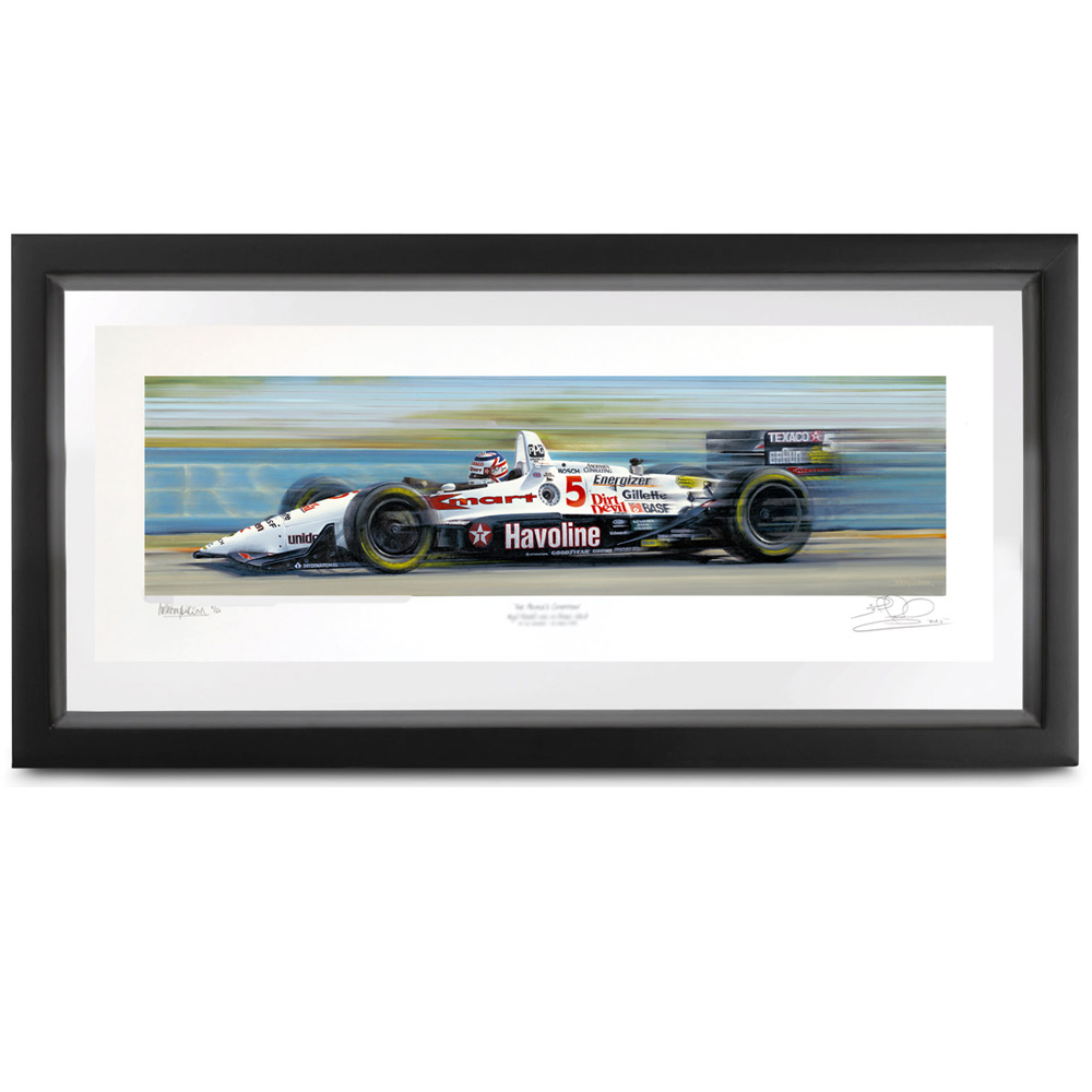 Product image for Champion Paradise, Lola Indycart: Signed by Nigel Mansell