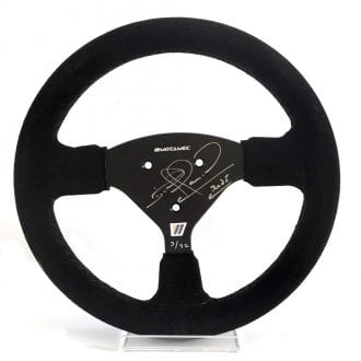 Product image for Williams FW14B replica full-size steering wheel: Signed Nigel Mansell