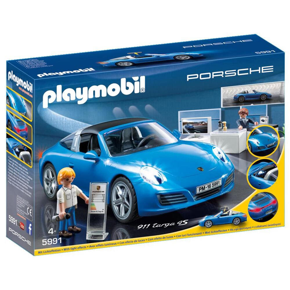Product image for Porsche 911 Targa 4S: Playmobil