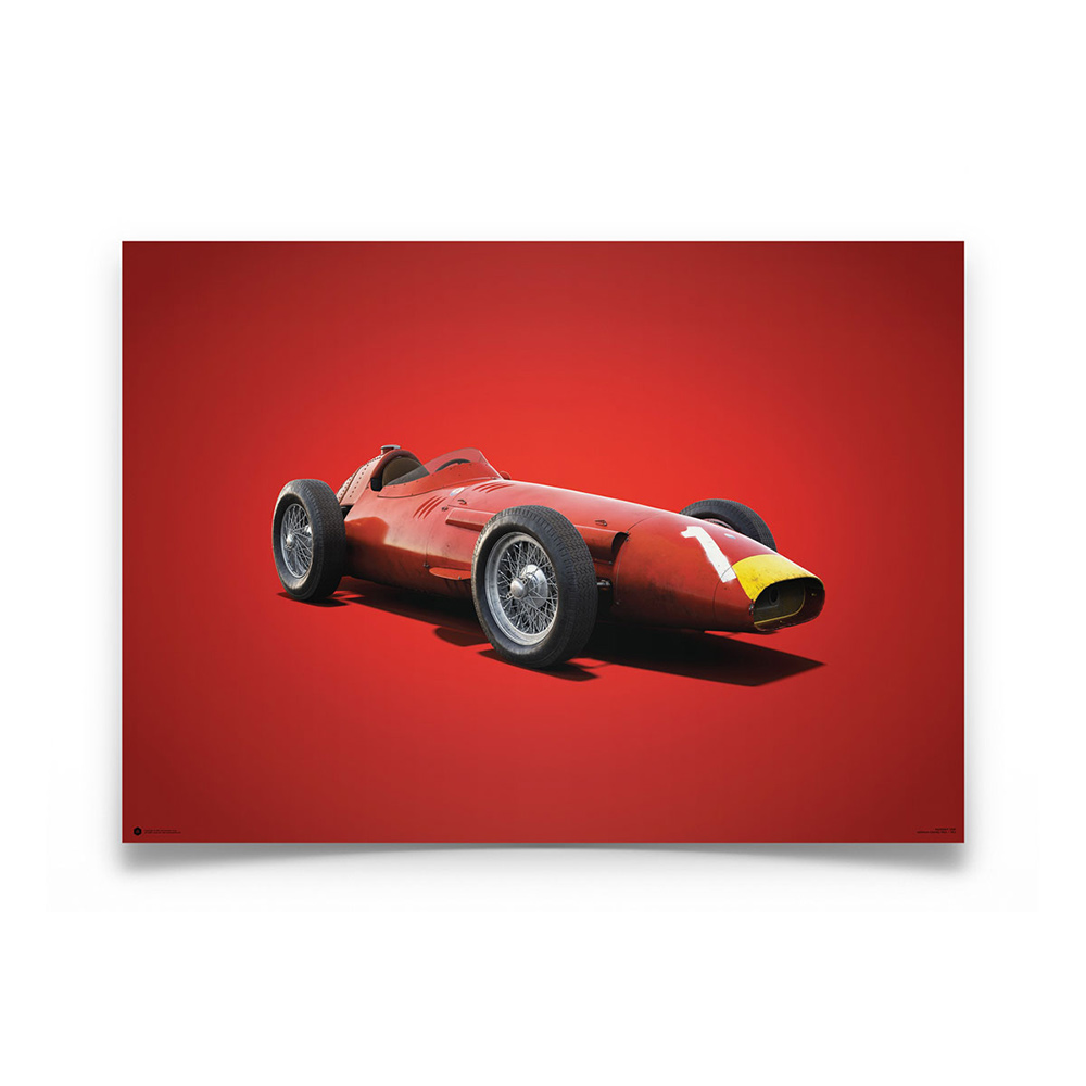 Product image for Maserati 250F Juan Manuel Fangio 1957: Limited Edition Poster