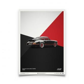 Product image for Porsche 911 RS Black: Limited Poster