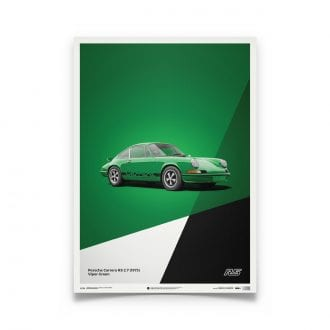 Product image for Porsche 911 RS Green: Limited Poster
