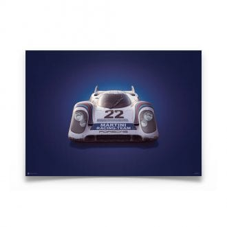 Product image for Porsche 917 Martini 24h Le Mans 1971 Colors of Speed Poster