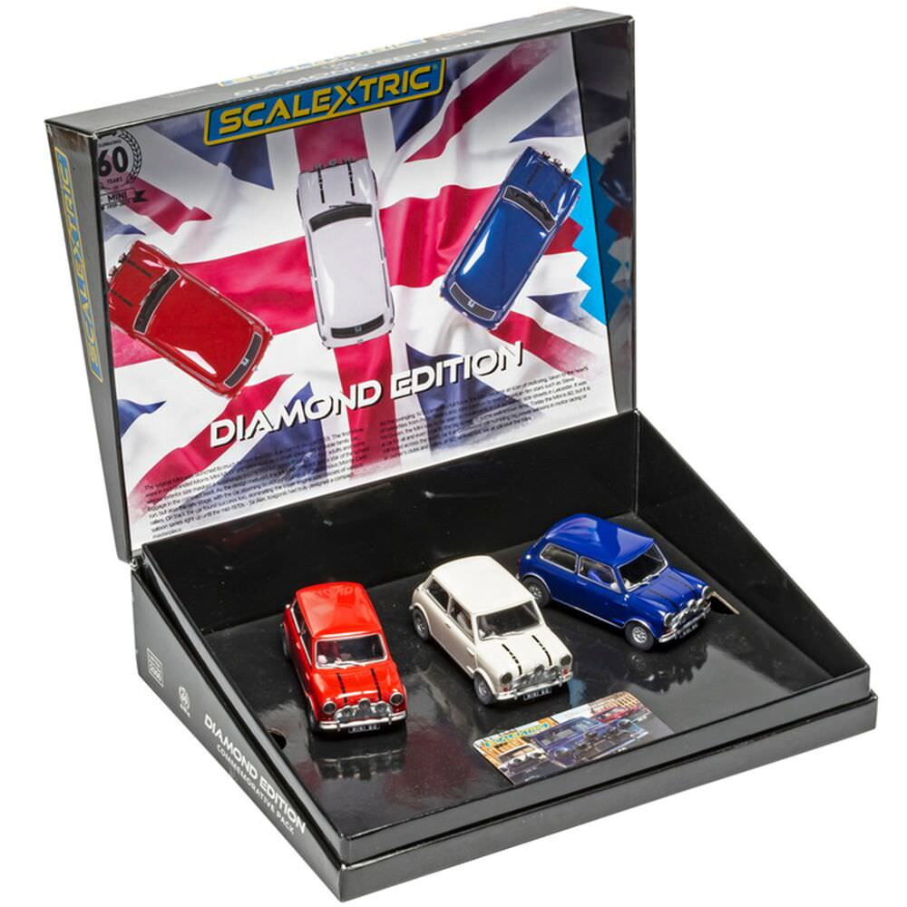 Product image for Mini Diamond Edition - Commemorative Triple Pack: Scalextric