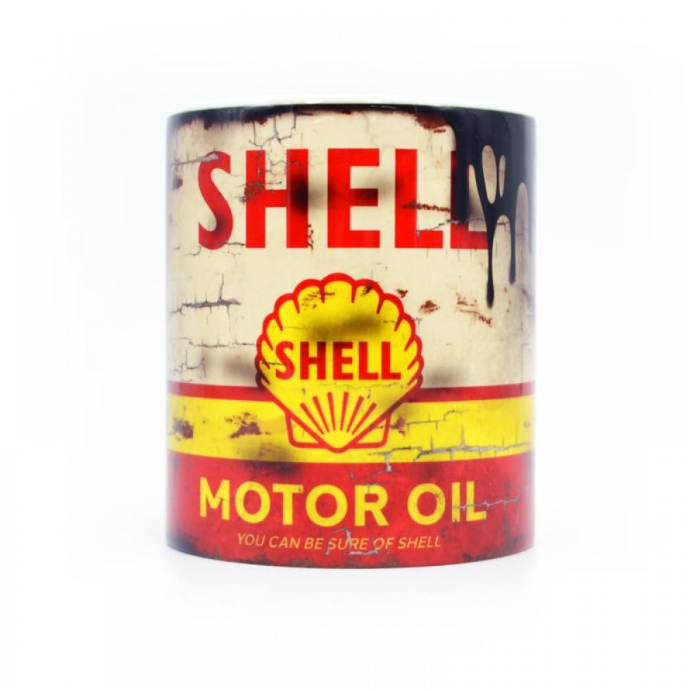 Product image for Shell Oil Can Mug