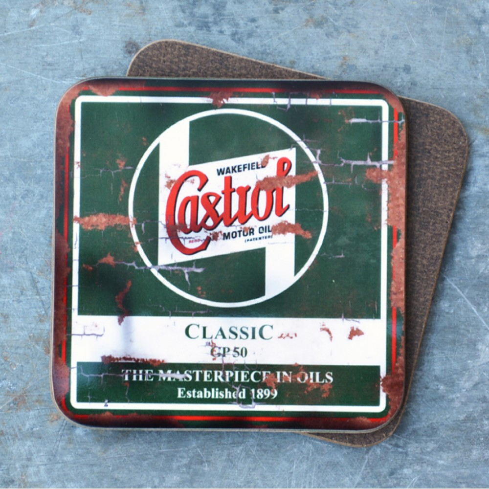 Product image for Castrol Wakefield Oil Coaster
