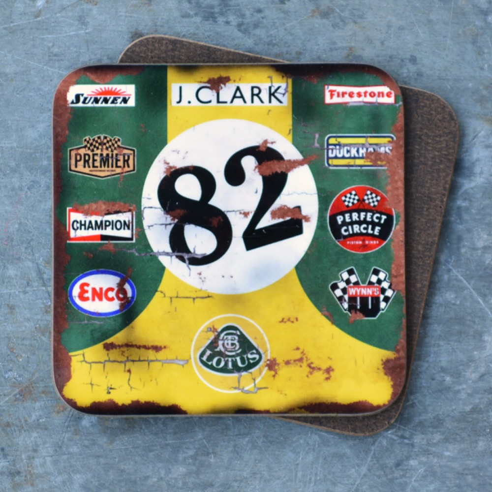 Product image for Jim Clark Lotus Coaster