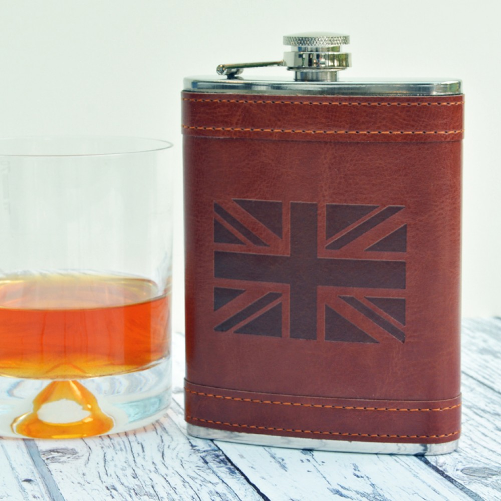 Product image for Union Jack Hip Flask