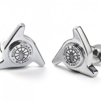 Product image for Genuine Borrani 3 Ear Spinner Cufflinks