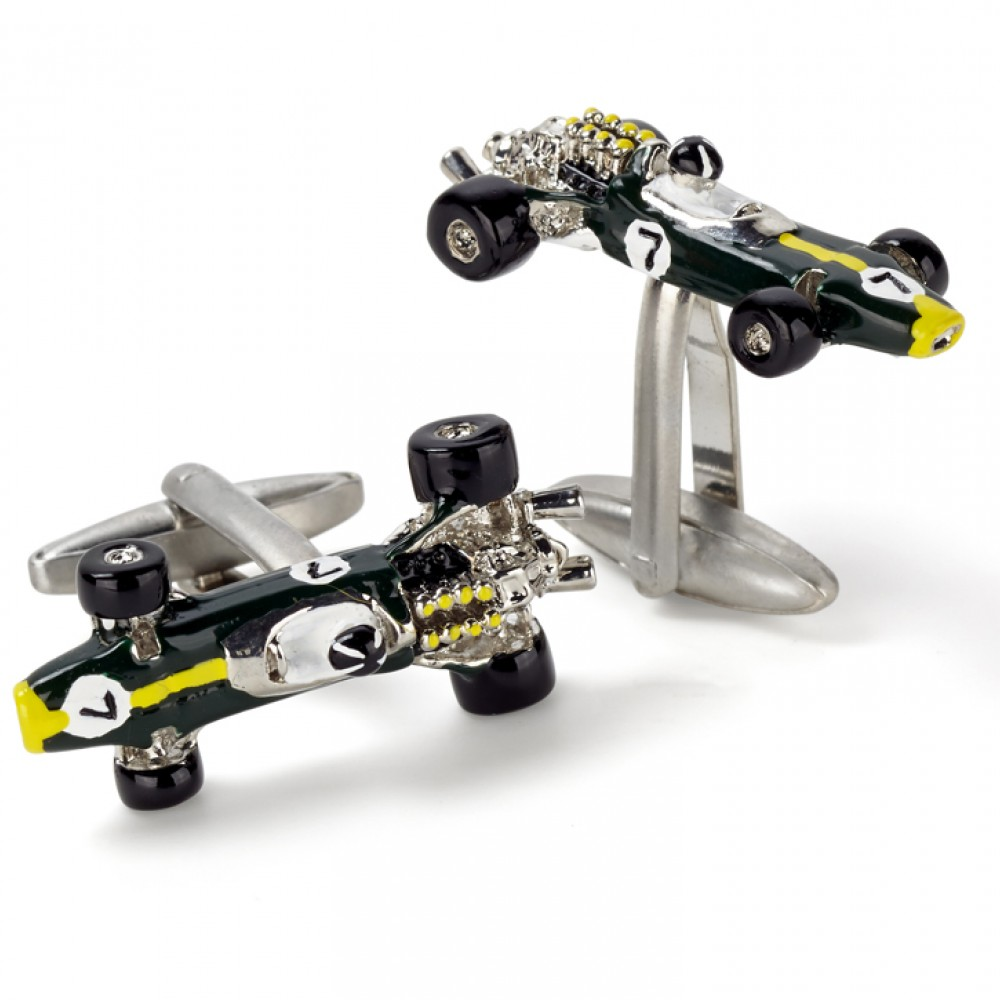 Product image for Lotus 49 Racing Car Cufflinks