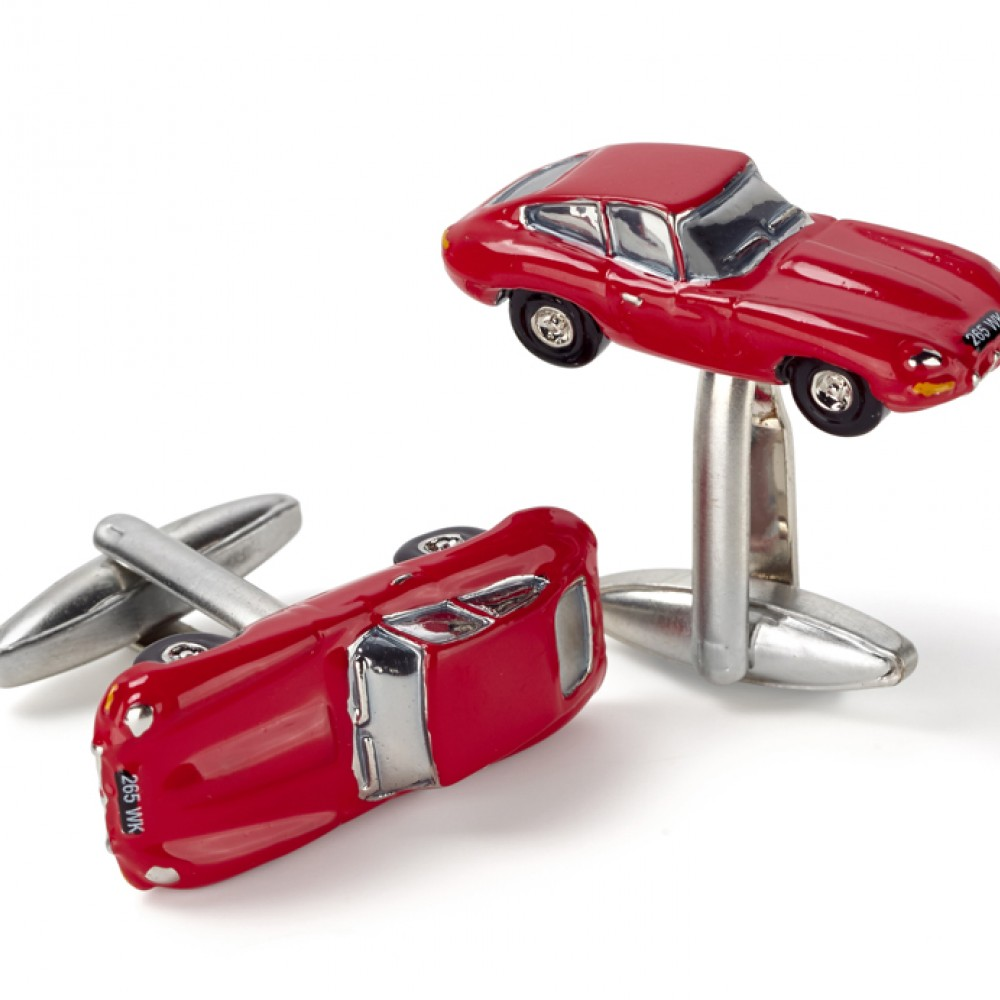 Product image for Classic Jaguar E Type Cufflinks