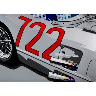 Product image for Mercedes 722 Print