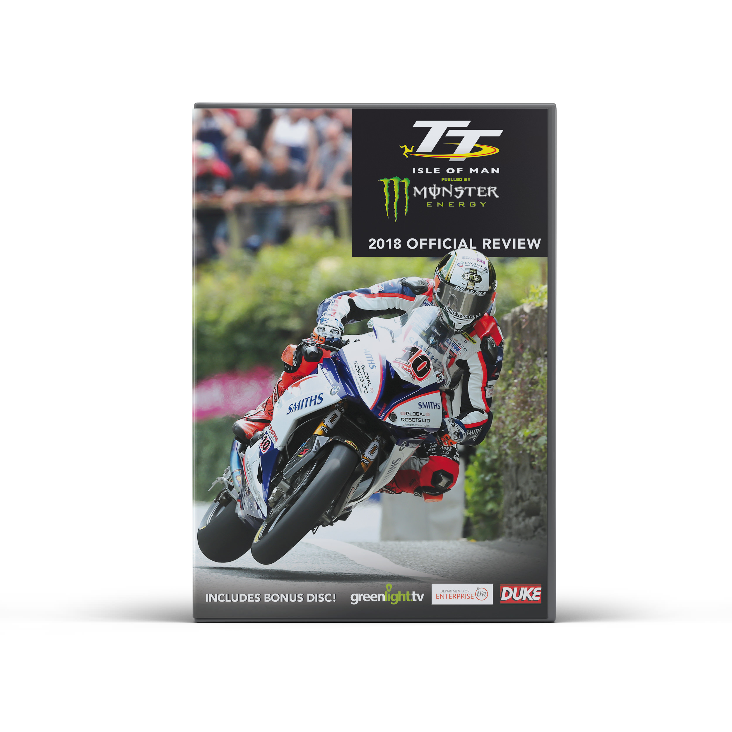 Product image for Isle of Man TT 2018 Review DVD/Blu-ray