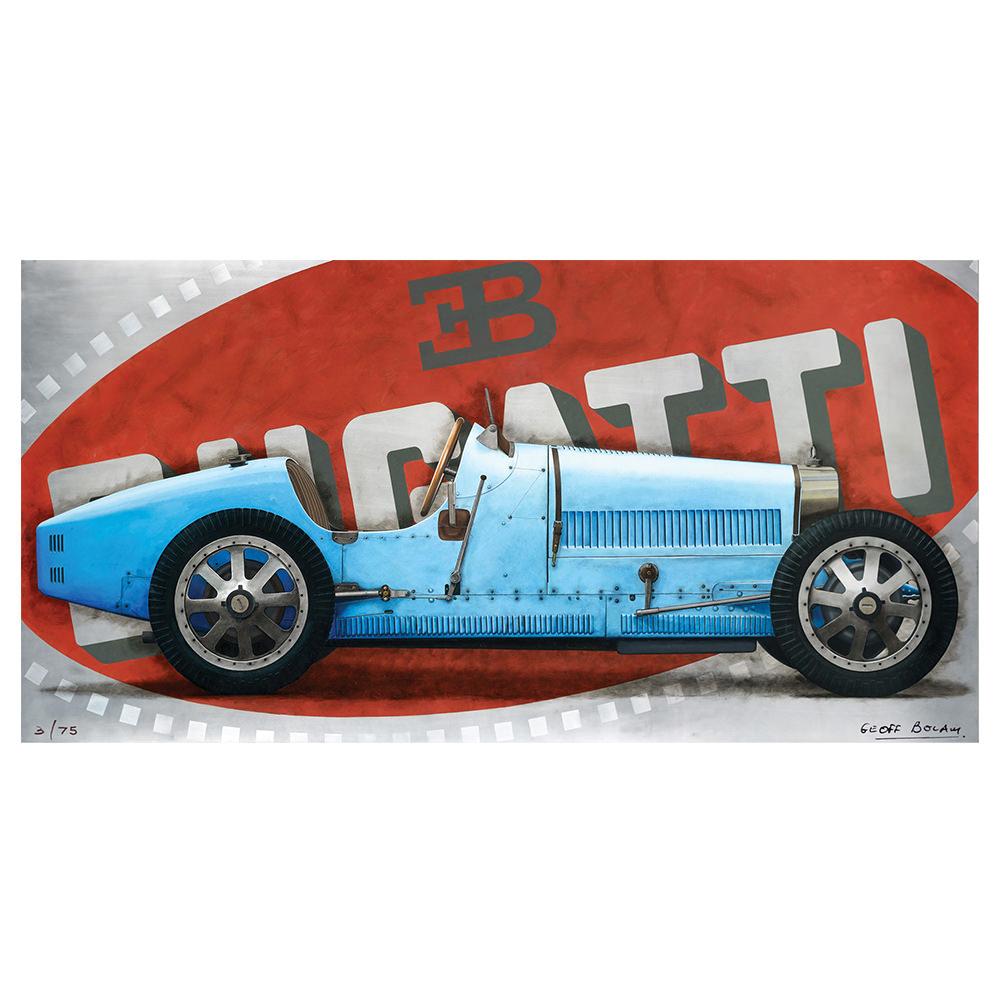 Product image for Bugatti Type 35 Aluminium Print