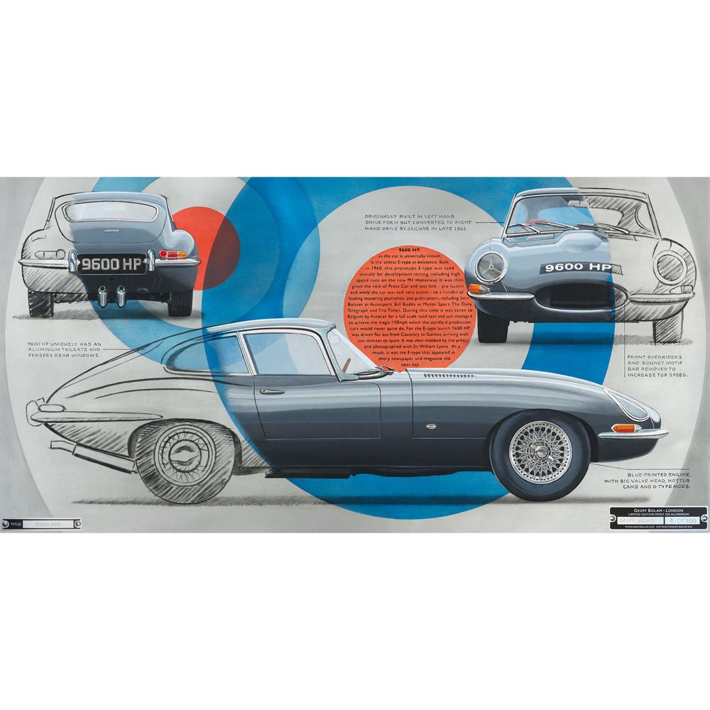 Product image for E-type Jaguar 9600 HP