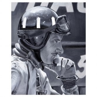 Product image for Graham Hill Print