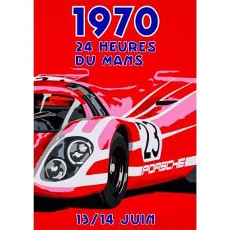 Product image for Porsche Le Mans Poster