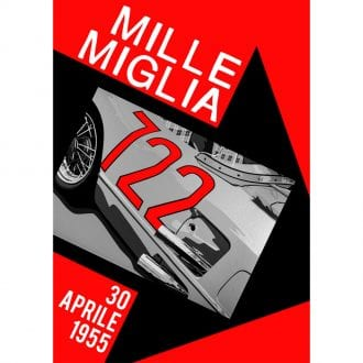 Product image for Mille Miglia 722 Portrait Poster
