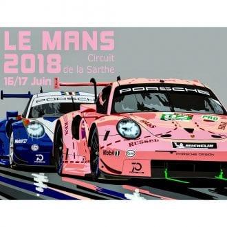 Product image for Porsche Le Mans 1&2 Poster
