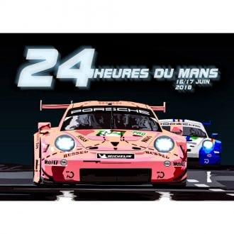 Product image for Pink Pig Le Mans 2018 Landscape