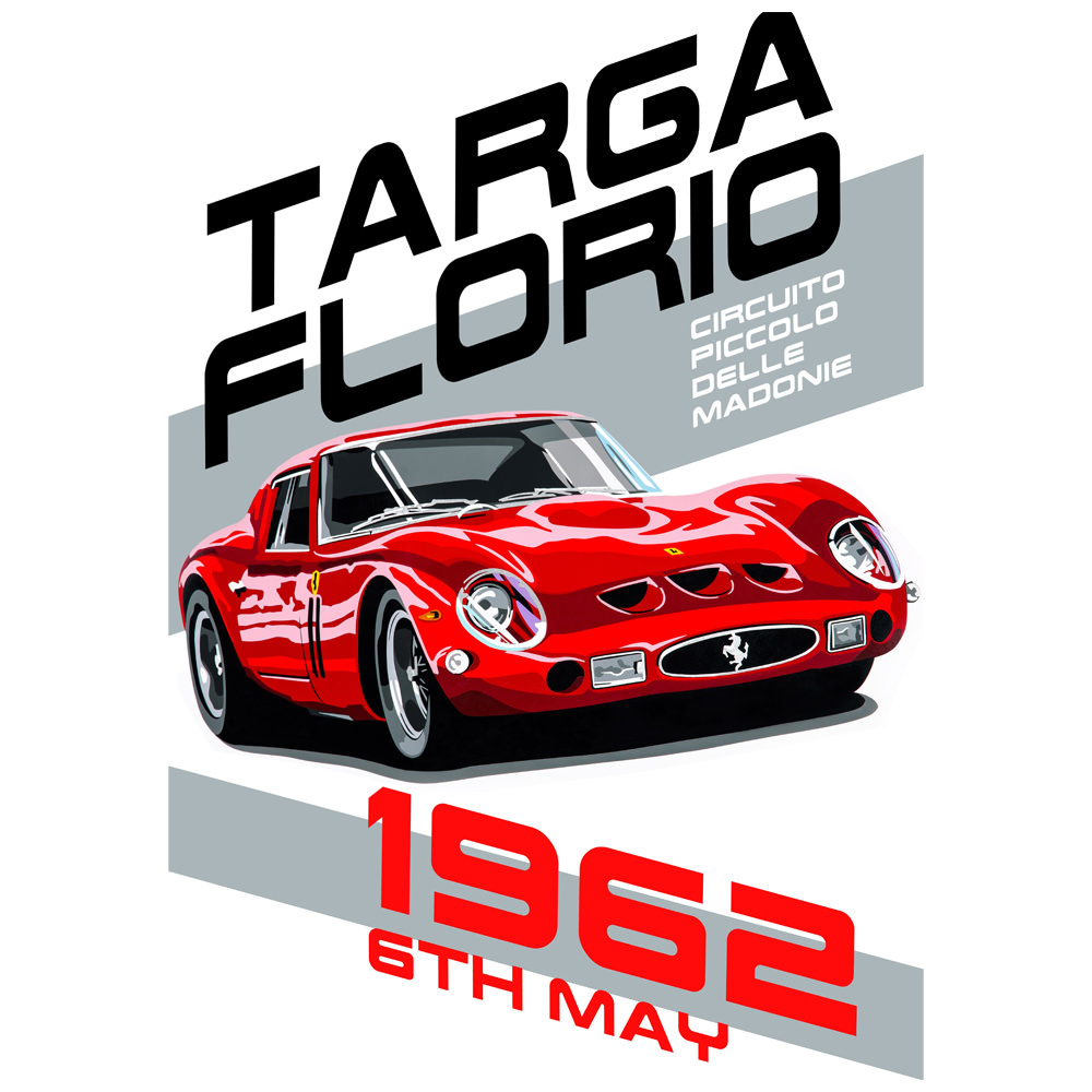 Product image for Targa Florio Poster