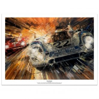 Product image for Le Mans 1971 Record Breaker: Limited Edition Print