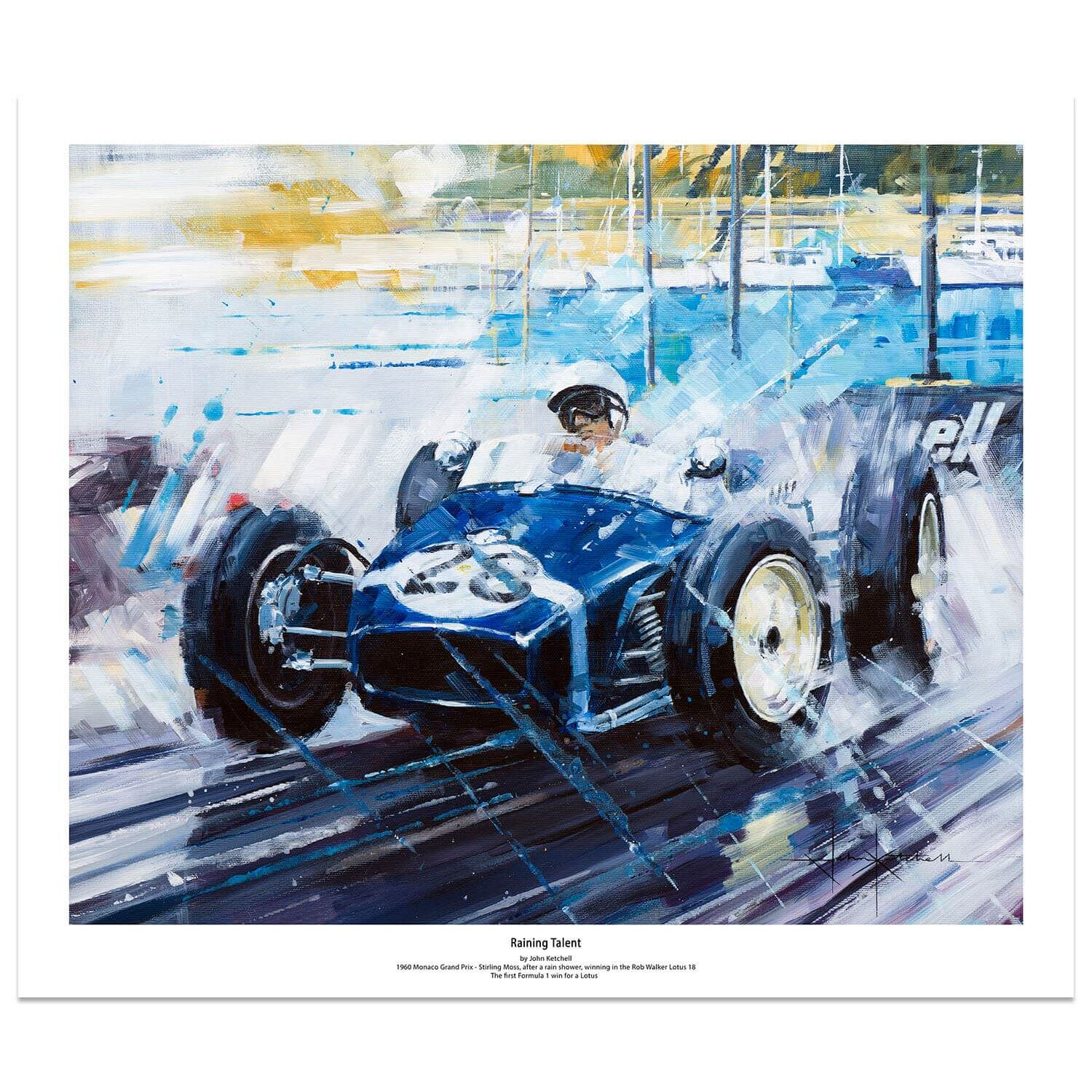 Product image for Lotus 18 1960 Raining Talent: Limited Edition