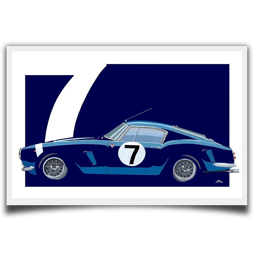 Product image for Ferrari 2119GT: Limited Edition Print