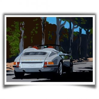 Product image for Porsche 911 Speedster: Limited Edition Print