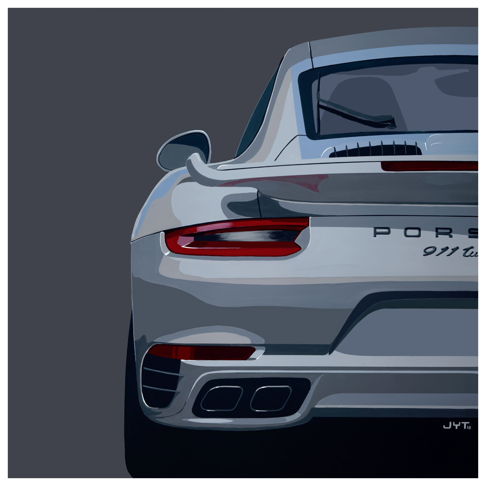 Product image for Turbo S - Limited Edition Print
