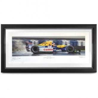 Product image for Champion Elect, Williams FW14B: Signed Nigel Mansell