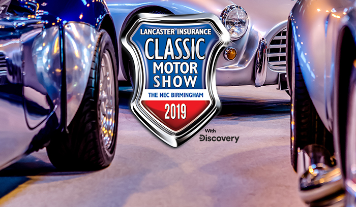 Win tickets to the Classic Motor Show