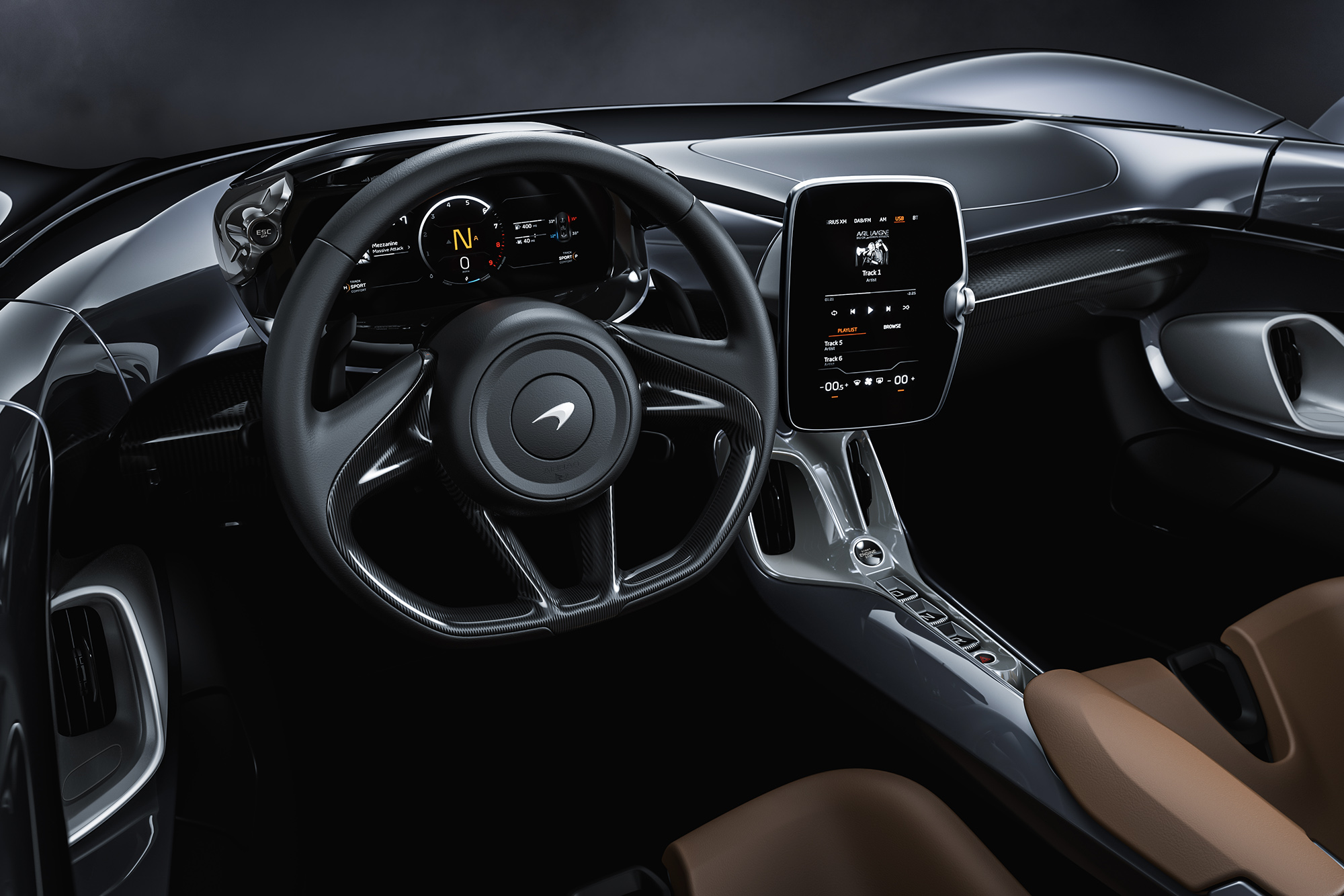 2019 McLaren Elva interior