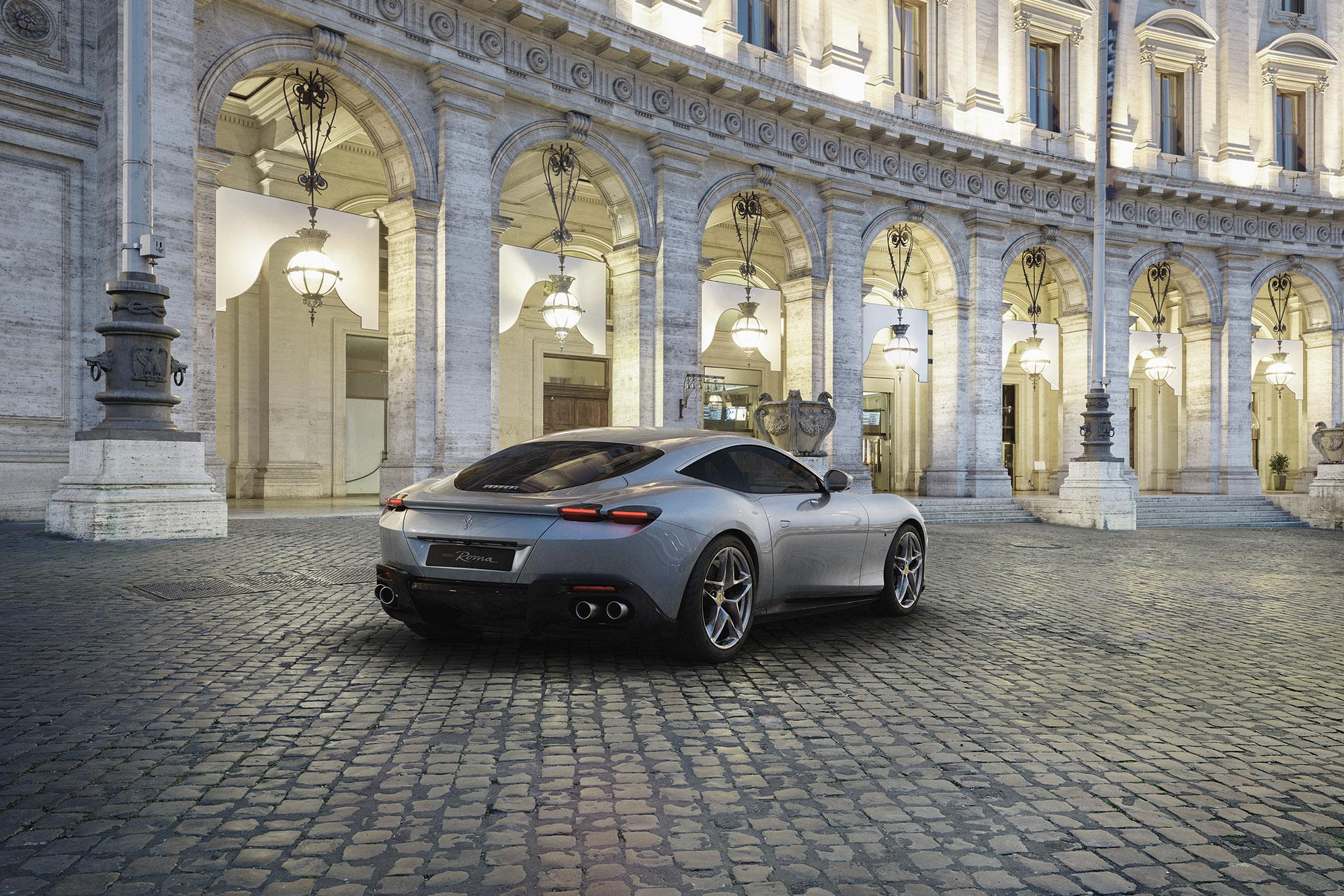 2019 Ferrari Roma rear