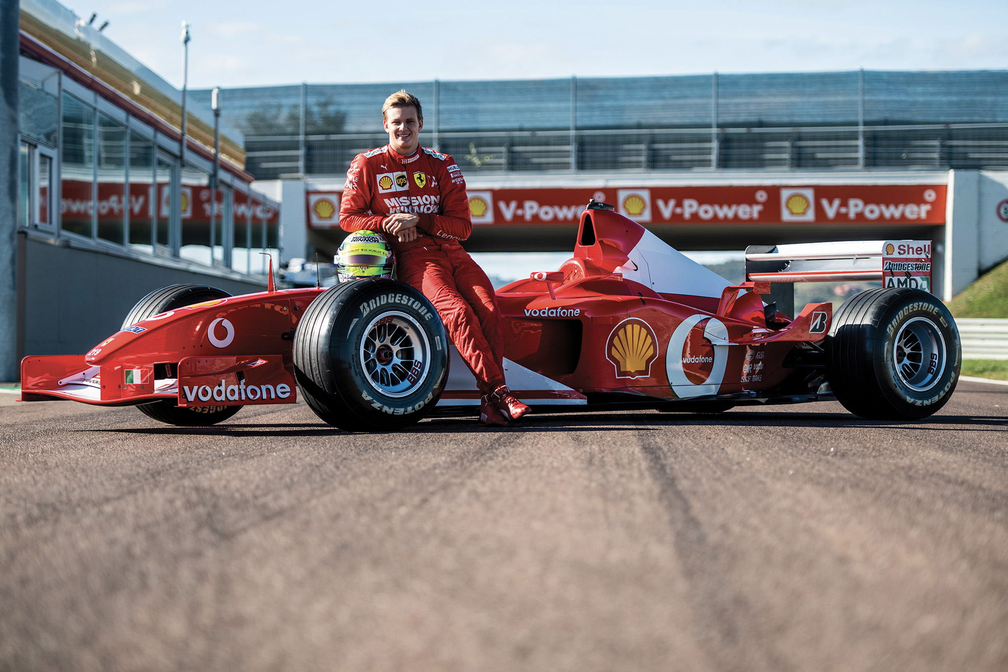 Video: Mick Schumacher drives dad's 2002 F1 championship-winning Ferrari