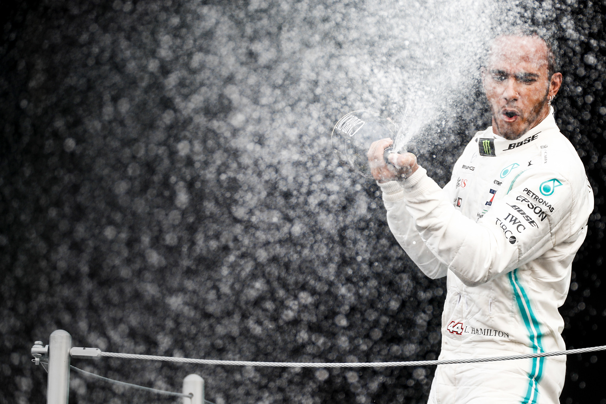 Lewis Hamilton's gift that puts the six-time F1 champion among the greats