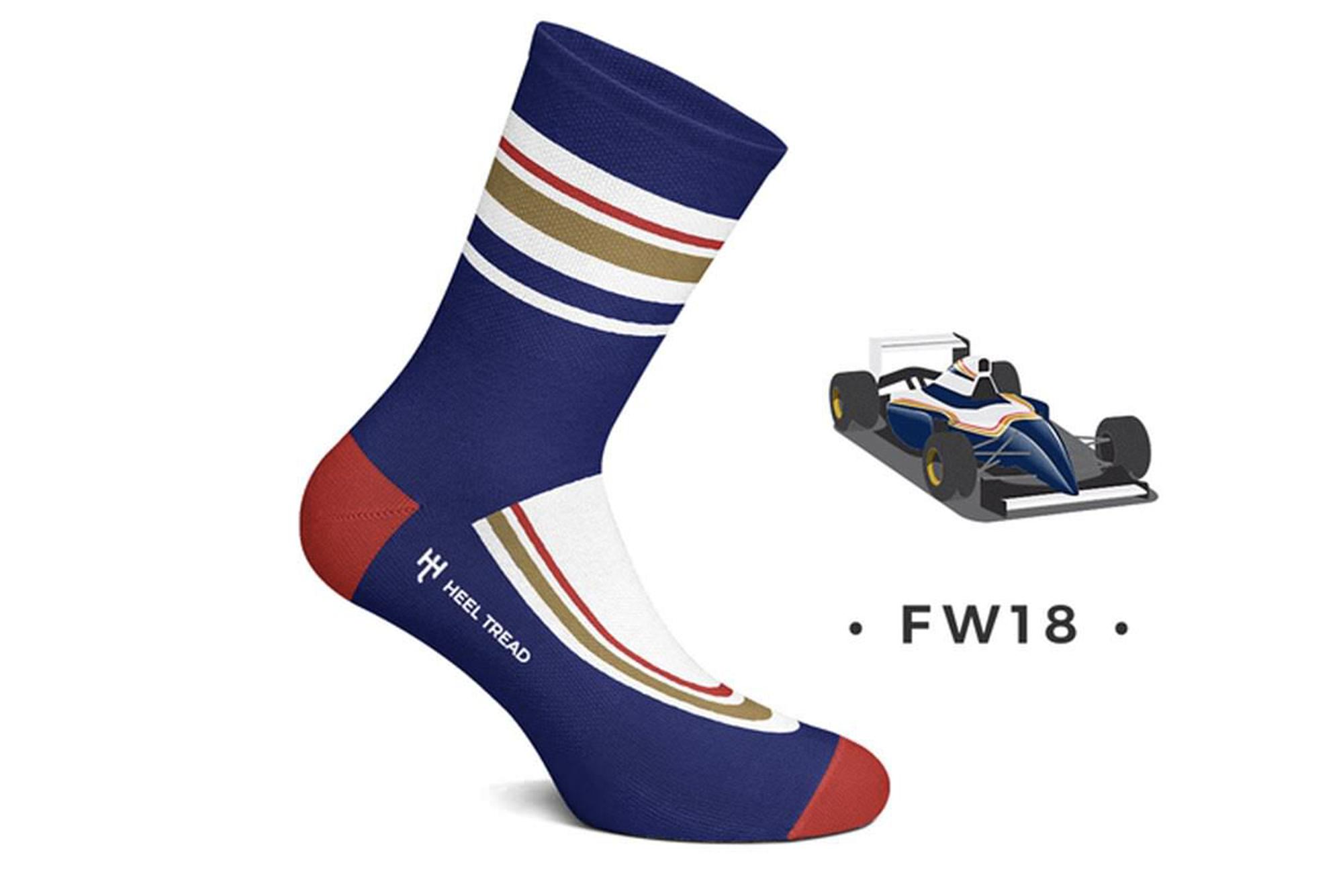 Heel Tread Williams socks