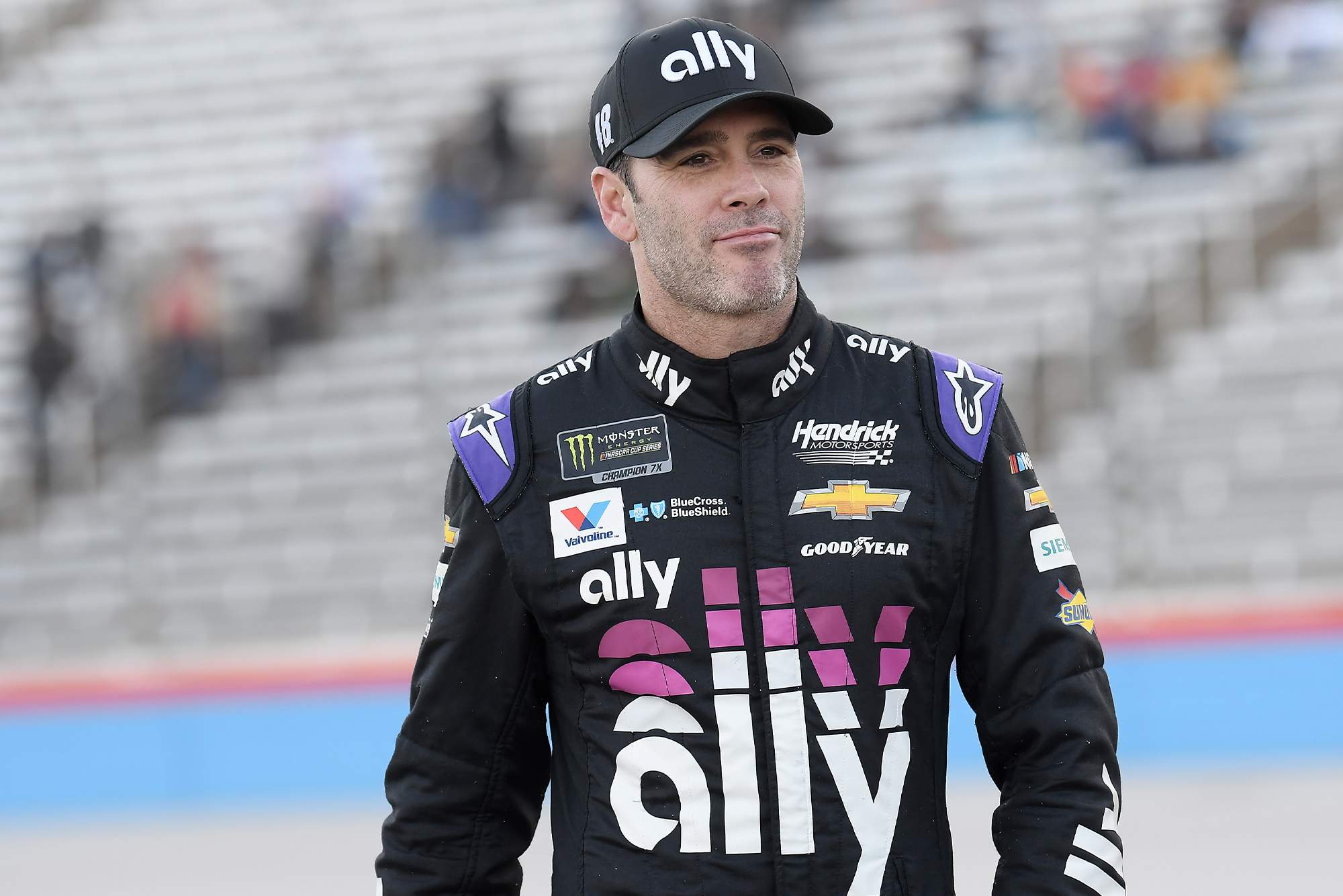 Jimmie Johnson during the 2019 season