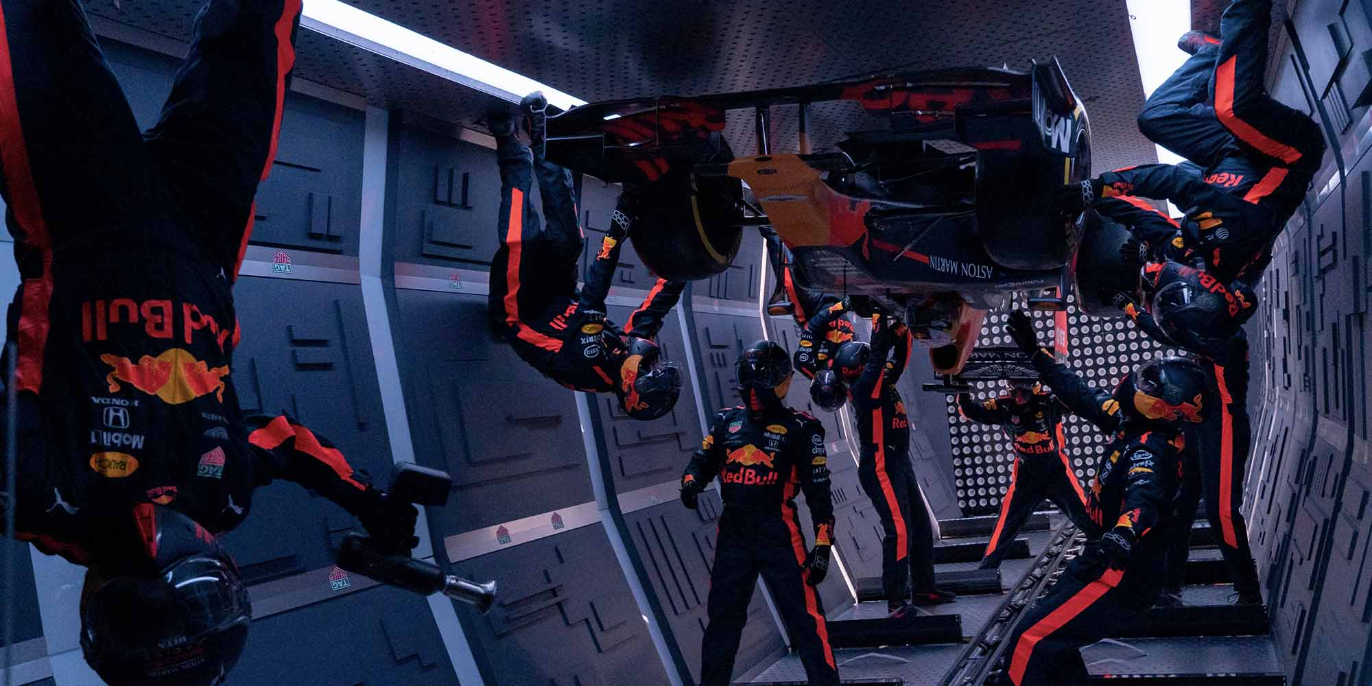 Video: Red Bull's Formula 1 pit stop in zero gravity