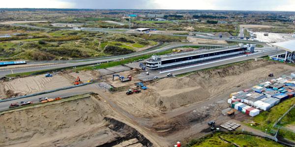 Banked corners under construction at Zandvoort ahead of 2020 Dutch GP