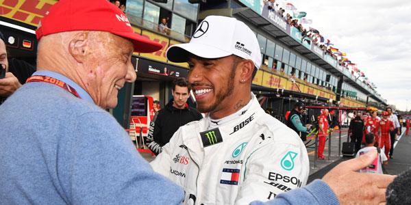 MPH: Niki Lauda's tough love – his great bond with Lewis Hamilton
