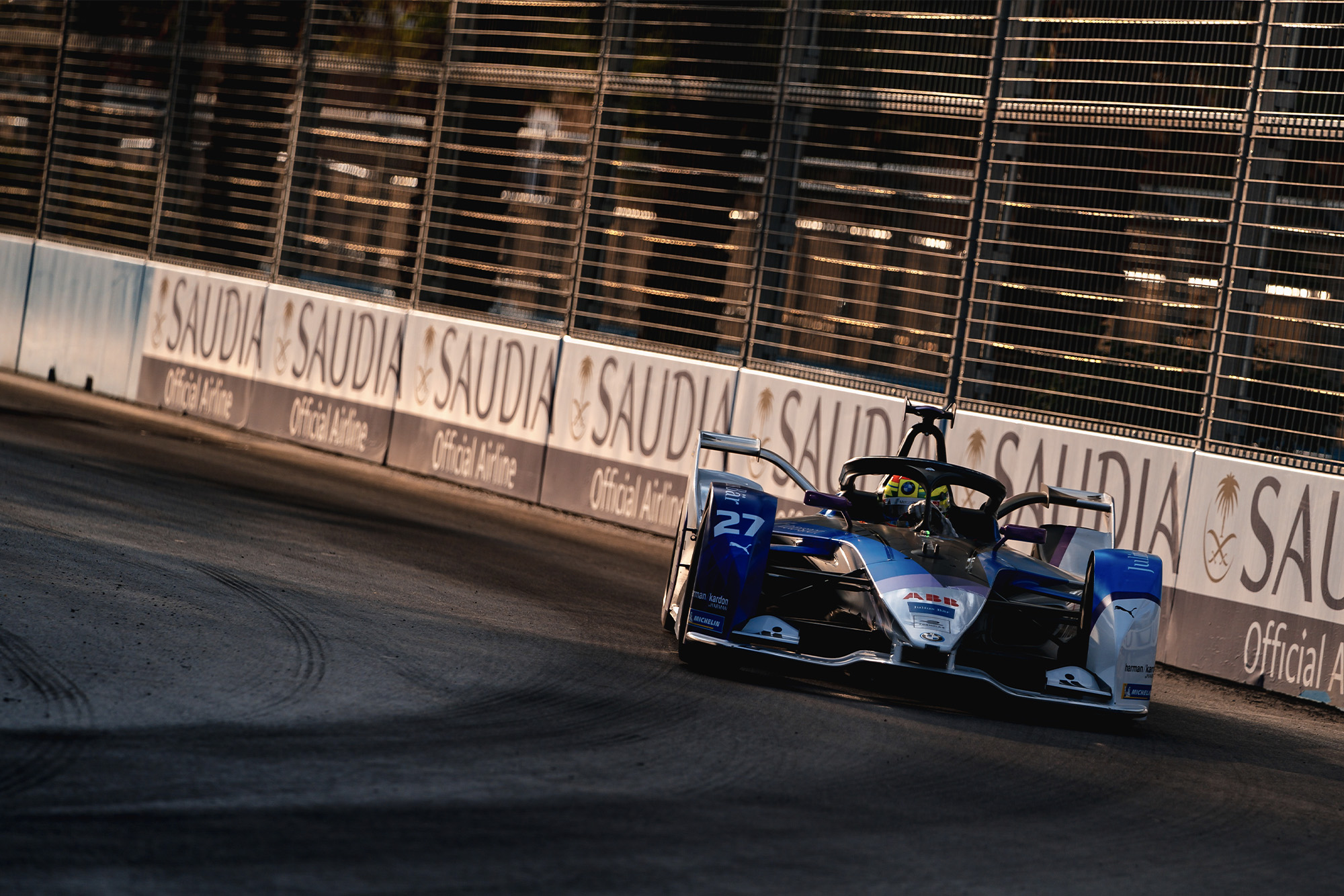 Alexander Sims during the 2019 Diriyah E-Prix