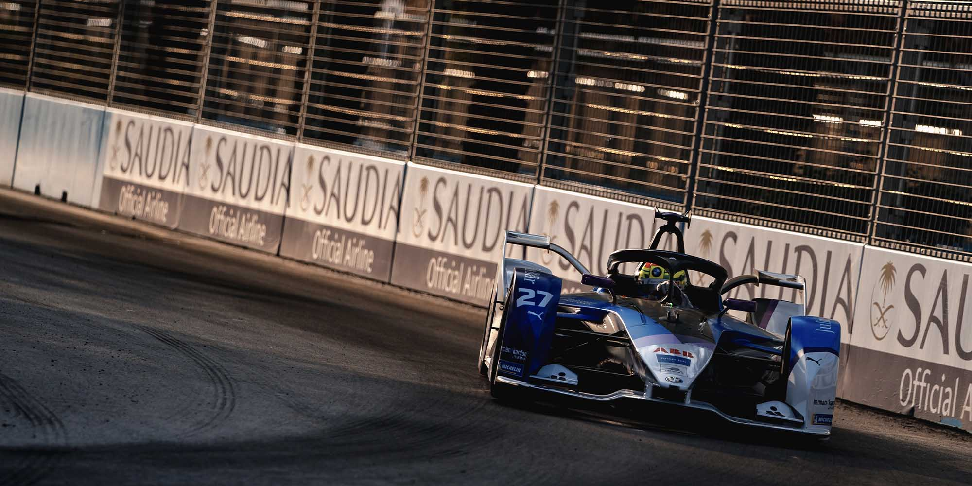 Alexander Sims: the unlikely Powersliding Professor of Formula E