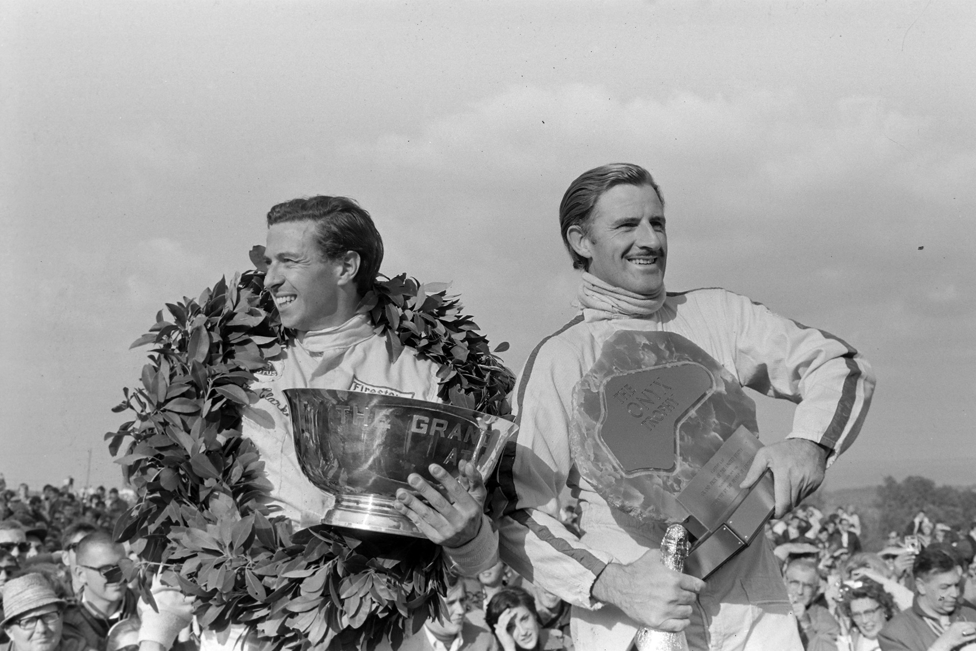 Jim Clark and Graham Hill