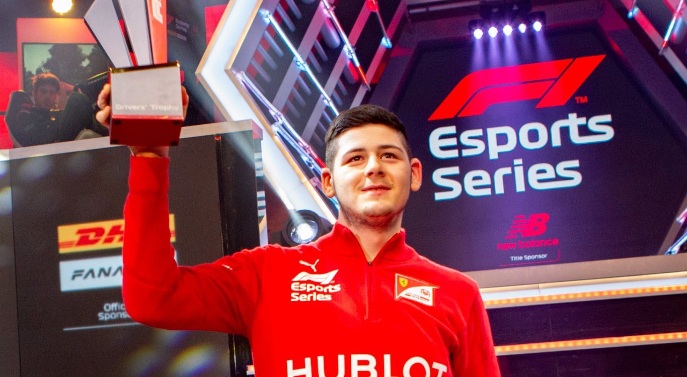David Tonizza wins F1 Esports final for Ferrari